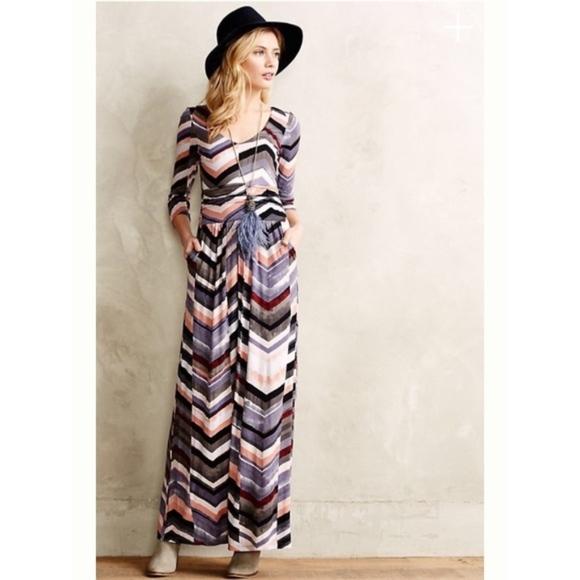 89e026692b116 Anthropologie Dresses | Anthropology Multicolored Novela Maxi Dress ...